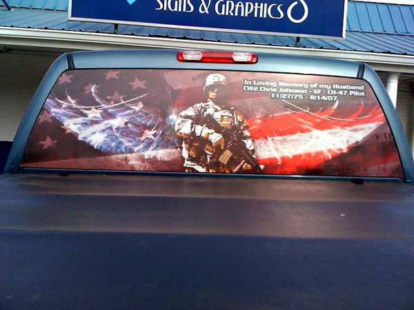 Vehicle Graphics Window Graphics Magnetic Signs